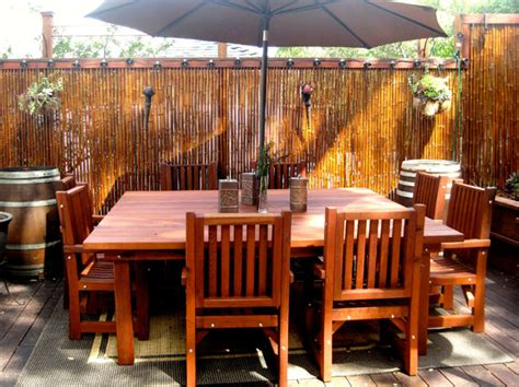 Redwood Patio Set by Redwood Patio Furniture Plans Wood Plans