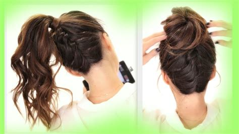 easy hairstyles for school updo tag updo hairstyles for school hair libs