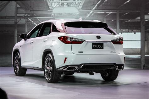 lexus rxf 2016 lexus rx specs pictures performance news