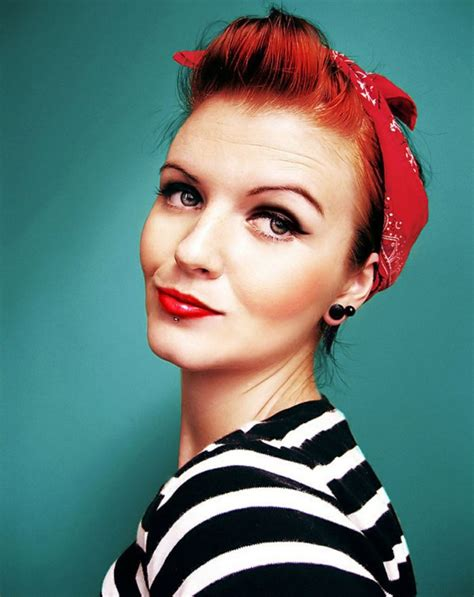 40 Short Rockabilly Hairstyles For Women And Men   Hum Ideas