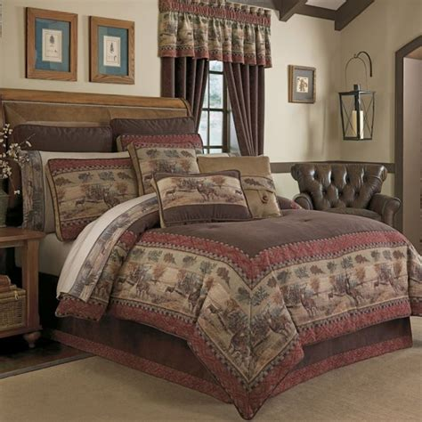 Croscill Townhouse Comforter by Deer Valley Bedding Ensemble By Croscill Townhouse Linens