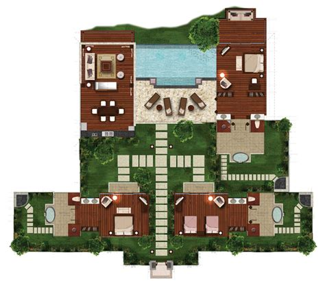 house plan 311001 three tier villa building plans free download the nature sanctuary eco luxury resort residences