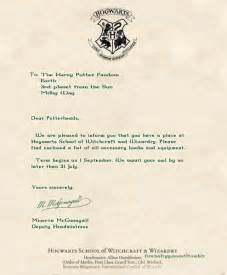 Harry Potter Acceptance Letter Age Hogwarts Acceptance Letter Harry Potter Disney Harry Potter Theme And Birthdays