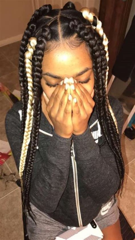 large or extra large box braids 42 chunky cool jumbo box braids styles in every length