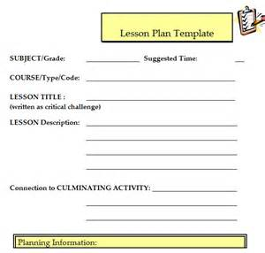 lesson plan template excel 41 free lesson plan templates in word excel pdf
