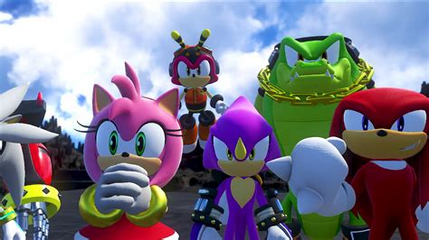 imagenes de vector sonic sonic forces amy charmy espio vector and knuckle by