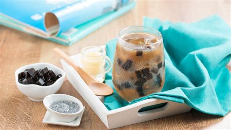Sariwangi Teh Celup Jumbo milk tea with grass jelly unilever food solutions id