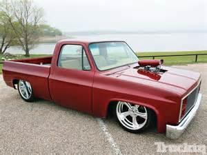 1982 chevy c10 black widow truckin magazine