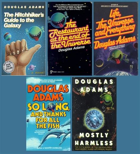 douglas the hitchhiker trilogy hitchhiker s guide series by douglas 1979 1992