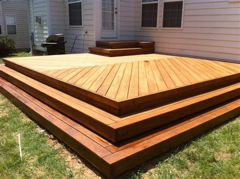 wrap around deck plans deck with herringbone decking pattern no railing with