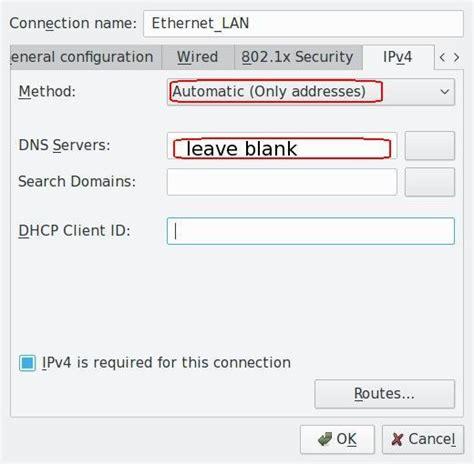 check  fix dns leak  linux