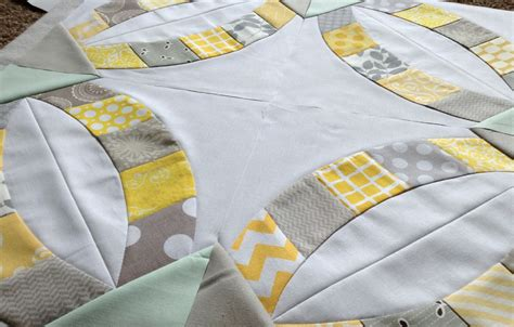 quick double wedding ring quilt sew kind of wonderful double wedding ring with the quick