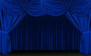 Blue Curtains Blue Stage Curtains Www Imgkid The Image Kid Has It