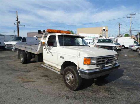 rollback bed ford f 450 1988 flatbeds rollbacks