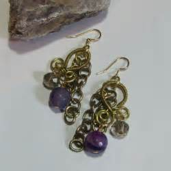 wire wrapped chandelier earrings 1000 images about jewelry on