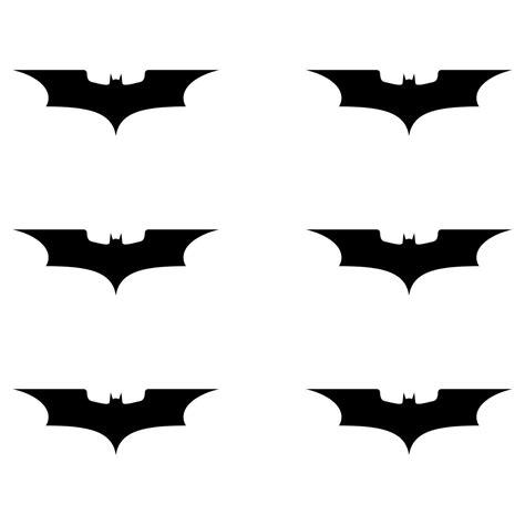 Tattoo Aufkleber Schwarz by 6 Aufkleber Tattoo 5cm Schwarz Batman Neu Fledermaus Handy
