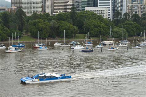 boat transport brisbane photo of city cat ferry on the brisbane river free
