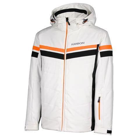 Mens Insulated Ski Jacket karbon chromium insulated ski jacket s ebay