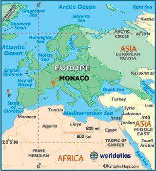 monaco europe map monaco facts on largest cities populations symbols