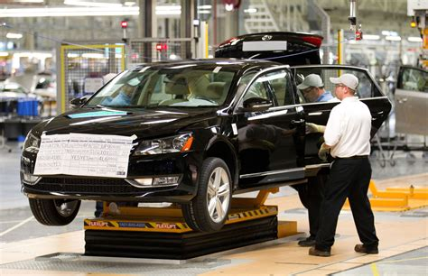 volkswagen plant chattanooga tn volkswagen chattanooga tn plant opening photo gallery