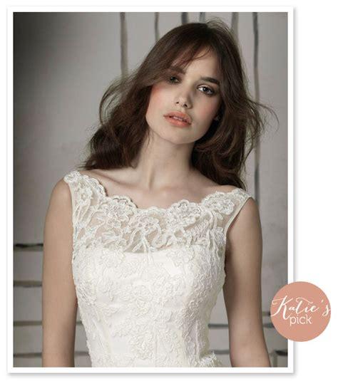 hairdo for boat neckline boatneck style lace illusion neckline wedding dress