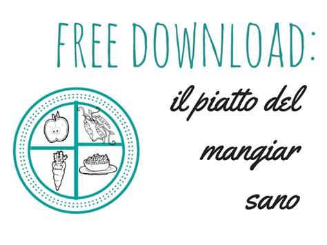 software alimentazione insegnare ai bambini a mangiare sano free