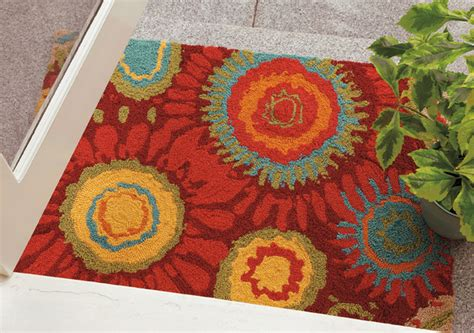 bright colored outdoor rugs colorspree indoor outdoor rugs modern entry boston