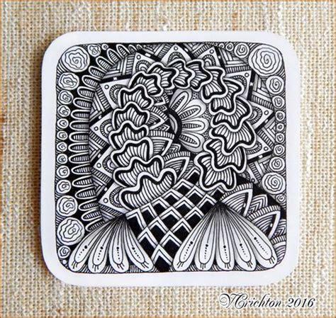 zentangle tile template zentangle tiles 9x9 cm zentangle pattern tangle drawing