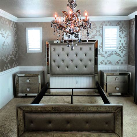 bobs furniture silver bedroom set bedroom silver mirror bedroom set home decor interior exterior remarkable mirrored bobs