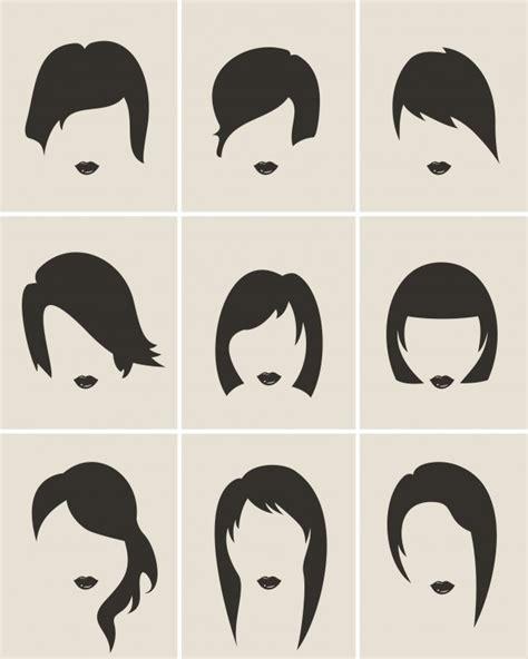 imagen de corte de pelo para mujeres cortes de pelo para mujeres descargar vectores gratis