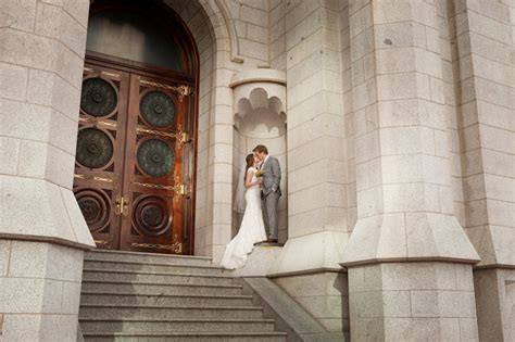 The Door Slc by Groom Portraits At Salt Lake Temple