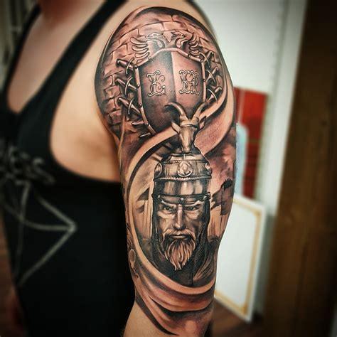 albanian eagle tattoo albanian eagle shoulder www pixshark images