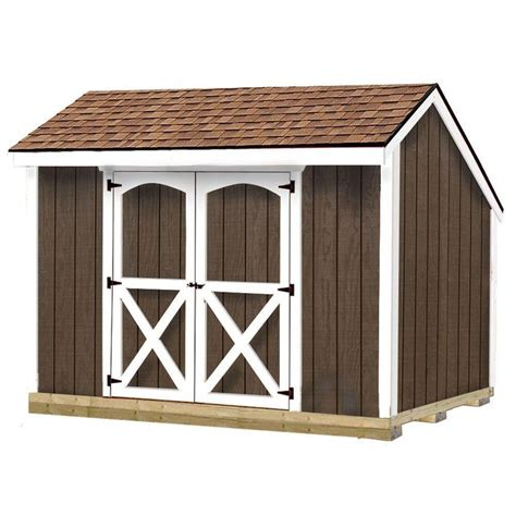 Best Barns Shed Kits by Best Barns Aspen 8 Ft X 10 Ft Wood Storage Shed Kit With