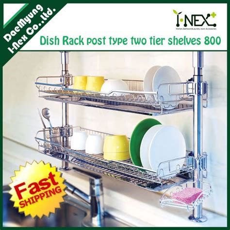 under cabinet drying rack over the wall dish drainer small spaces