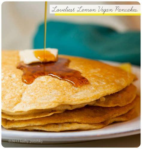 comfort food breakfast loveliest lemon vegan pancakes comfort food breakfast