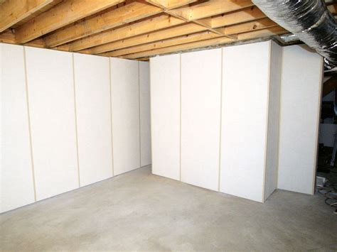 basement wall insulation information on insulating