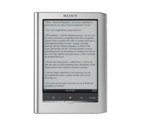 format sony ebook reader discovering ebooks and the sony ereader bookish ardour