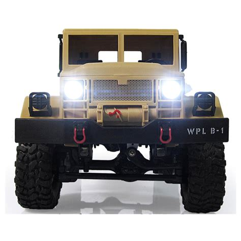 Rc Crawler Nqd 116 4wd wpl wplb1 116 24g 4wd rc crawler road car with light rtr ebay