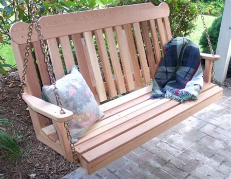 woodworking plans guide   wooden garden swing