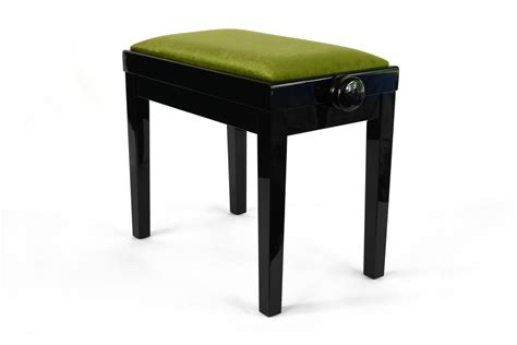 small benches small bench for piano adjustable in height rossini green velvet