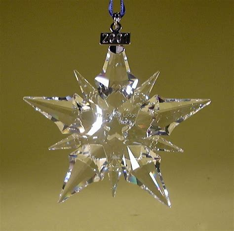 swarovski swarovski 2001 christmas ornament 267941