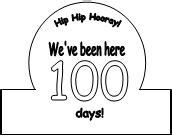 100th Day Crown Template by Illuminations 100th Day Of School