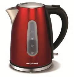 Morphy Richards Cream Toaster Accents Jug Kettle Red Kitchen Appliances Amp Electric Kettles