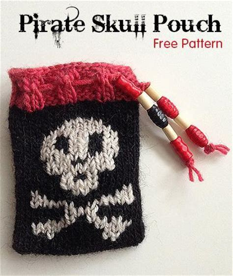 pouch knitting pattern pirate skull pouch by majacrafts craftsy