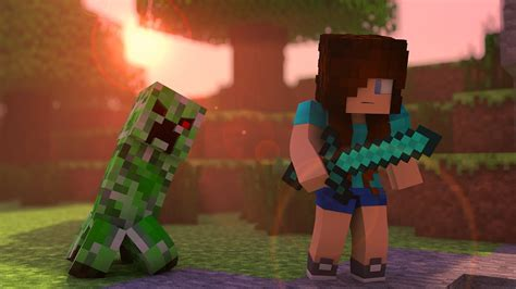 minecraft song creeper quot a minecraft parody minecraft animation youtube