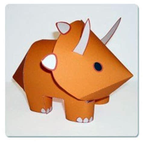 Dinosaur Paper Craft - pepasaur paper toys andrew paperkraft net free