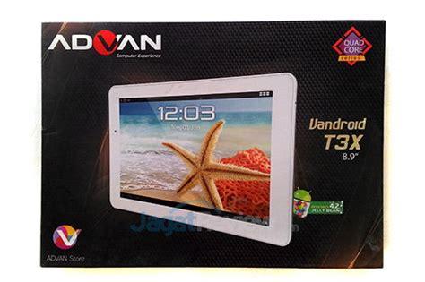 Tablet Advan T3x advan luncurkan tablet vandroid t3x jagat review
