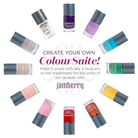 color suite create your own color suite choose any 4 jamberry nail