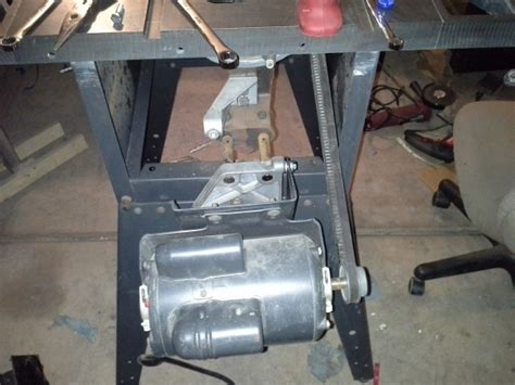 table saw motor replacement restoring an craftsman table saw woodworking