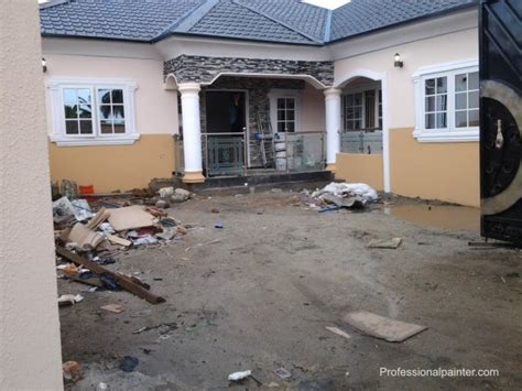 Cost Of Painting 4flats Of 3brd.   Properties   Nigeria